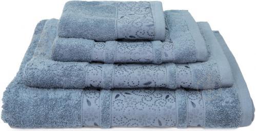 Полотенце махровое Sevinch 70x140 см серый Simi - фото 1