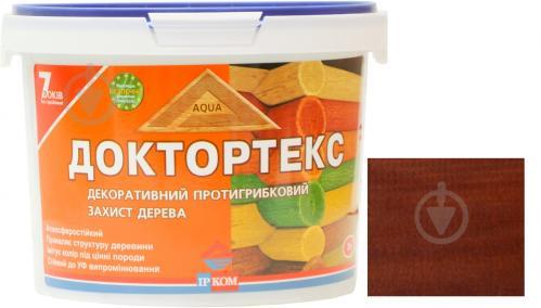 Лазурь ІРКОМ Доктортекс ИР-013 вишня шелковистый мат 3 л - фото 1