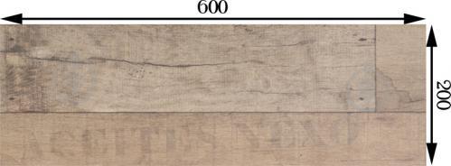 Плитка Nexo Бейге Декор 20х60 - фото 3