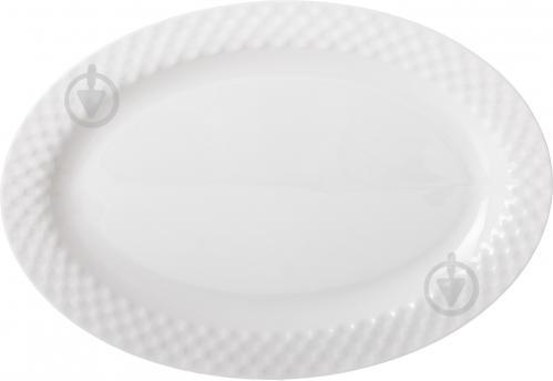 Блюдо овальное Crystal 35,5 см Fiora - фото 3