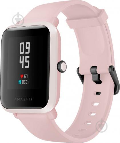Смарт-часы Amazfit Bip S Warm pink (601689) - фото 1