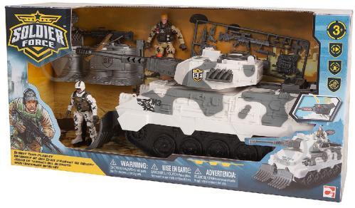 Игровой набор Chap Mei Солдаты Desert Tank 545058 - фото 1