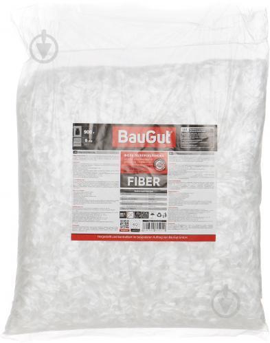 Фибра полипропиленовая BauGut 6 мм 0,9 кг