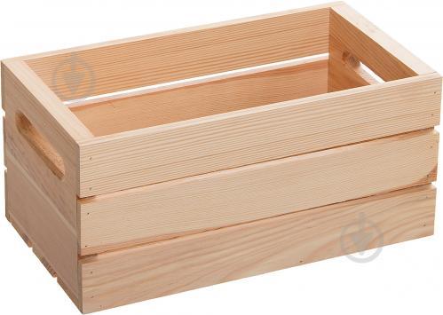 2e92d73dec632 ᐉ Ящик деревянный М лак 37x21,5x18,5 см • Купить в Киеве, Украине ...