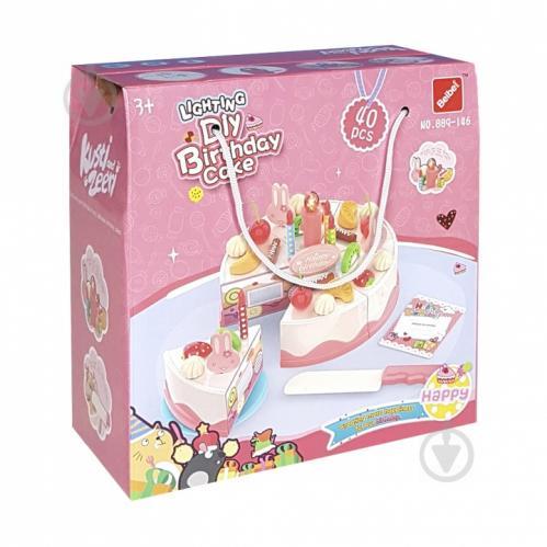 Игровой набор Qunxing Toys Праздничный торт 889-146 - фото 1