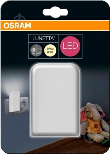 Нічник Osram 0.3 Вт білий - фото 3