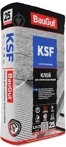 Клей для плитки BauGut KSF 25кг - фото 1