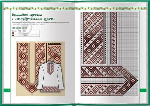 Русская мужская рубаха с вышивкой схема