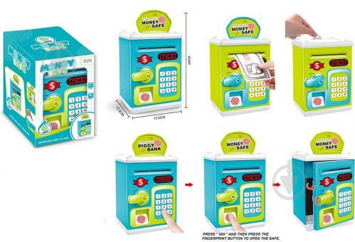 Сейф ігровий дитячий банк зелений OTE0644690/green - фото 1