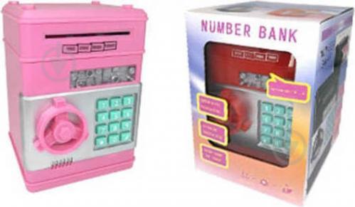 Сейф ігровий дитячий стандарт рожевий OTE0648259/pink - фото 1