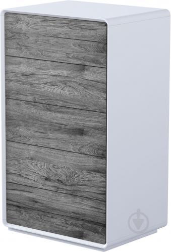 Комод Aqua Rodos Astrid ASTKOM5S-700-white-oak-moras белый матовый/дуб морас - фото 1