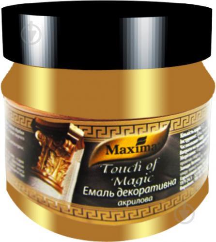 Декоративна фарба Maxima акрилова золото 0.1кг - фото 1