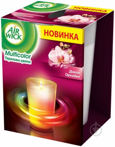 Ароматична свічка Air Wick Multicolor Дика орхідея 152 г - фото 1