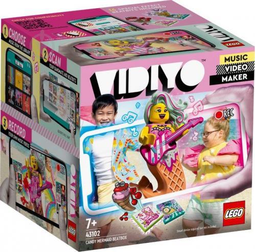 Конструктор LEGO Vidiyo Candy Mermaid BeatBox (Куб бітбокс «Солодка русалка») 43102 - фото 1