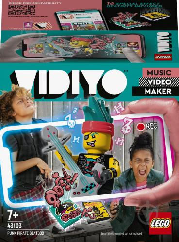 Конструктор LEGO VIDIYO Punk Pirate BeatBox (Бітбокс «Пірат-панк») 43103 - фото 1