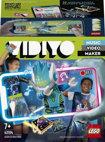 Конструктор LEGO VIDIYO Alien DJ BeatBox (Бітбокс «Прибулець-ді-джей») 43104 - фото 1