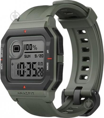 Смарт-часы Amazfit NeoSmart watch green (697441) - фото 1