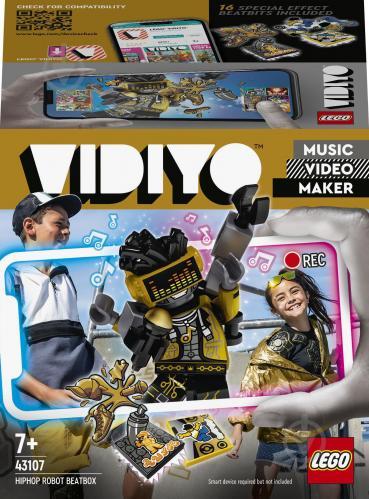Конструктор LEGO VIDIYO HipHop Robot BeatBox (Куб бітбокс «Робот-репер») 43107 - фото 1