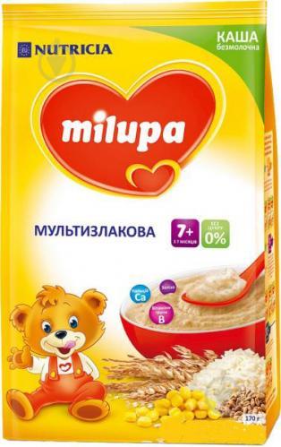 Каша безмолочная Milupa мультизлаковая 5900852930034 170 г