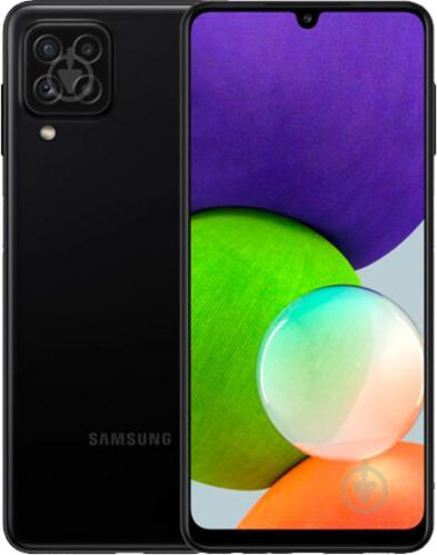 Смартфон Samsung Galaxy A22 4/64GB black (SM-A225FZKDSEK) - фото 1