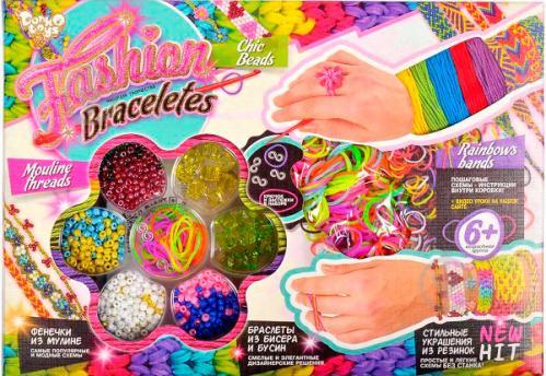 ᐉ Набір для творчості Danko Toys Fashion Braceletes середній FВ-01 ... 77fa3212a0770