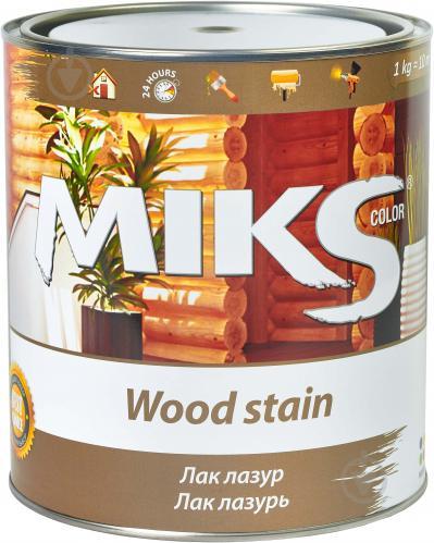 Лак-лазурь MIKS Color сосна полуглянец 0,7 кг - фото 2