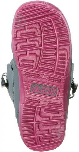 Ботинки горнолыжные Salomon PEARL р. 23,5 L39869900 серый - фото 3