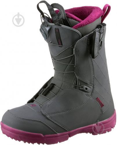 Ботинки горнолыжные Salomon PEARL р. 23,5 L39869900 серый