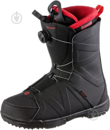 34b5fc45dc98 ᐉ Ботинки для сноуборда Salomon TRANSFER р. 26,5 L40225400 черный ...