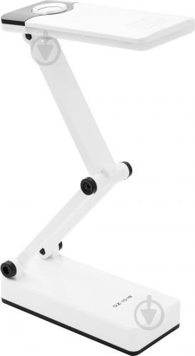 Настольная лампа офисная OASIS аккумуляторная 2,4 Вт белый GZ-1018 white black