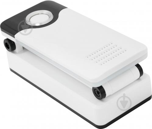 Настольная лампа офисная OASIS аккумуляторная 2,4 Вт белый GZ-1018 white black - фото 2
