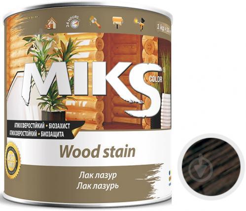Лак-лазурь MIKS Color палисандр полуглянец 2,2 кг - фото 1