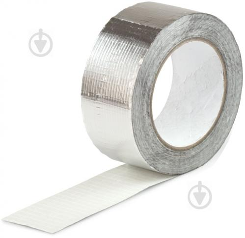 Стрічка клейка алюмінієва армована ALENOR 50 мм x 40 м Alenor - фото 1
