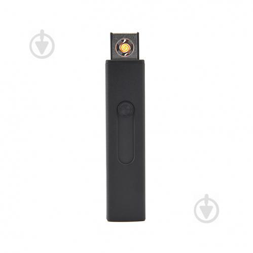 Запальничка Bergamo електрична USB чорна - фото 1