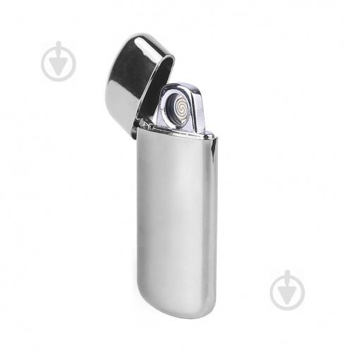 Запальничка Bergamo електрична USB сріблястий - фото 1