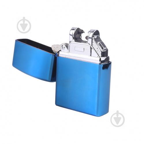 Запальничка Bergamo електрична USB синя 700F-3 - фото 1