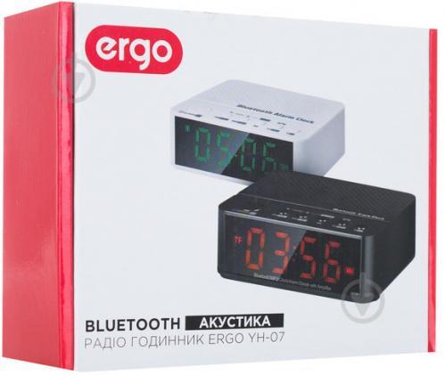ᐉ Радіогодинник Ergo YH-07 Black • Краща ціна в Києві 4929c419fc509