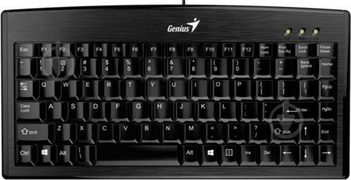 Клавіатура Genius LuxeMate 100 USB (31300725104) USB black - фото 1