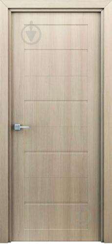 Дверне полотно ІД-Україна Оріон штучний шпон ПГ 700 мм капучіно