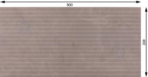 Плитка Mapisa Балморал лайнс грей 40,2x80 - фото 2