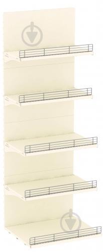 Стелаж пристінний 1930х665 упаковка № 2.А (полки і стінки) 9001 - фото 1