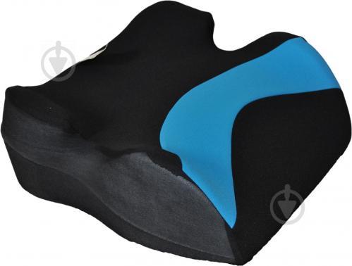 Автокрісло-бустер CarCommerce Junoir чорний/синій