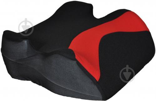 Автокрісло-бустер CarCommerce Junoir червоний/чорний