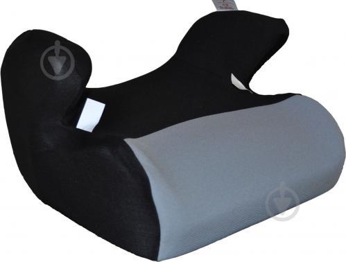 Автокрісло-бустер CarCommerce Junoir Plus сірий/чорний
