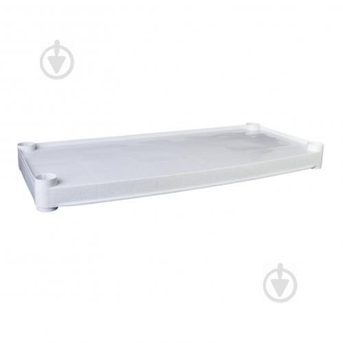 Полиця для стелажа Алеана 75x820x370 мм білий (124097) - фото 1