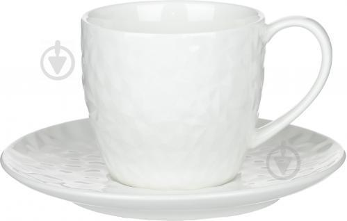 Чашка с блюдцем Chic 210 мл Fiora - фото 7