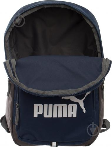 Рюкзак Puma Phase Backpack 20 л синий 7358902 - фото 5