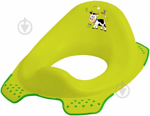 Накладка на унитаз Prima-Baby Funny Farm зеленая 8723.274