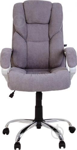 Кресло Nowy Styl Marell TILT CHR68 (CH) Soro 93 серый - фото 1