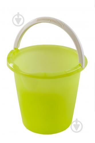 Ведро Curver Bingo зеленый 10 л - фото 1